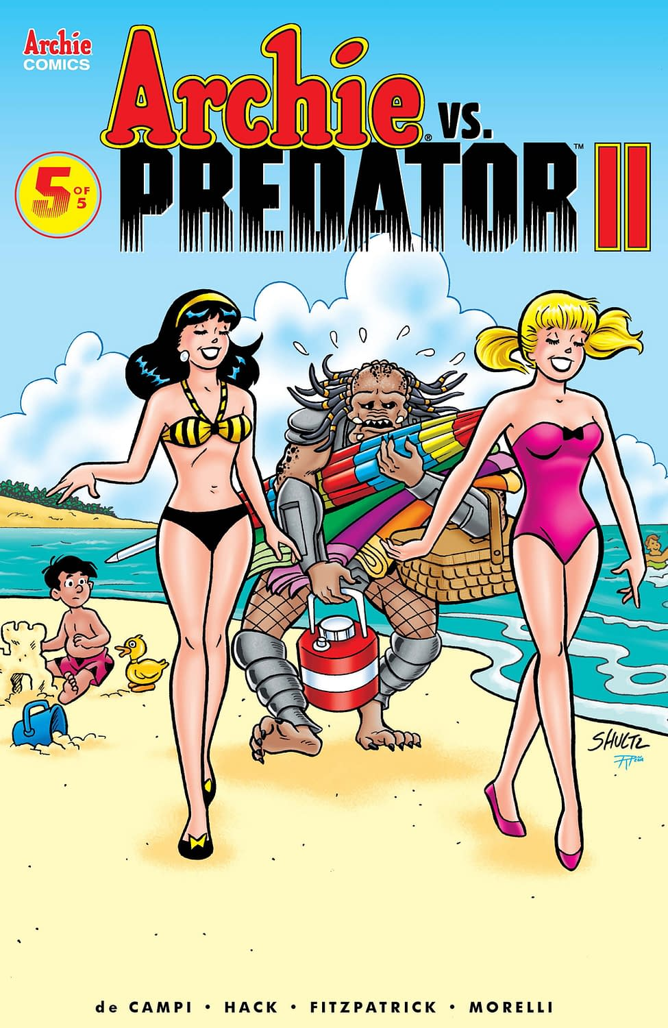 First Look at January's Archie vs. Predator 2 #5