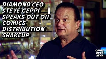Steve Geppi, Talking Live With Comic Book Retailers Tonight.