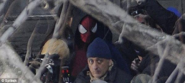 spider-man straight on