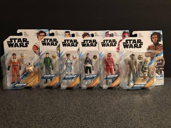 Hasbro Star Wars Resistance Figures