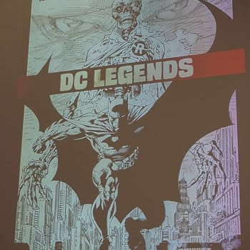 Jim Lee Gets a DC Legends Artifact Edition from IDW in September