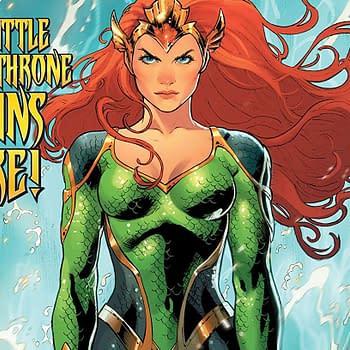 Mera Queen of Atlantis #1 cover by Nicola Scott and Romulo Fajardo Jr.