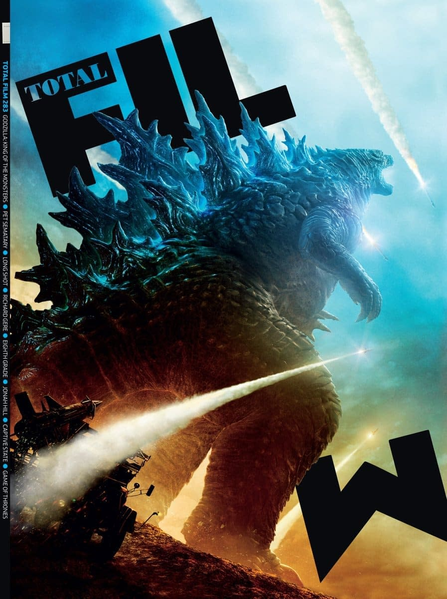 Godzilla: King of the Monsters Stomps Onto a New Magazine Cover