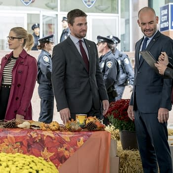 Arrow Season 6 Thanksgiving