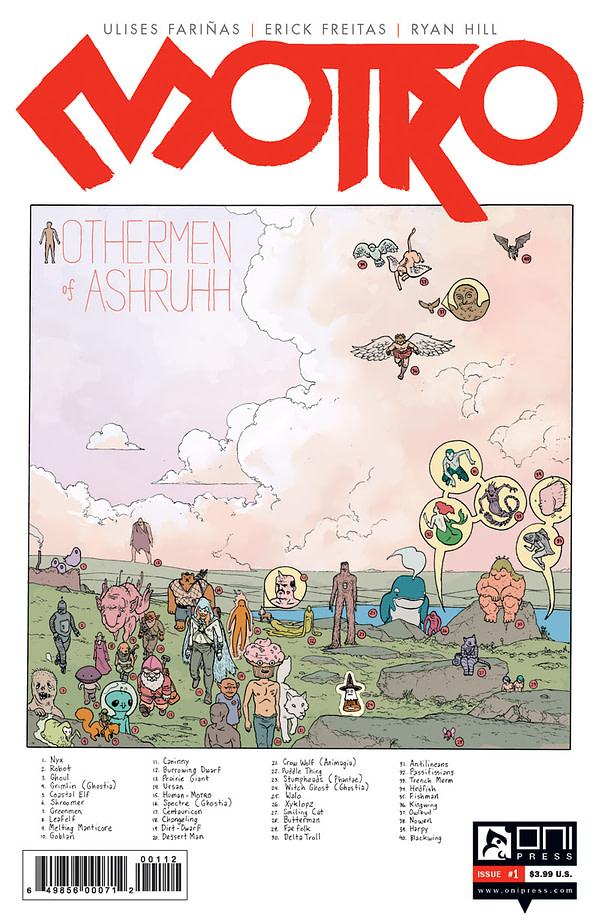COMIC MOTRO #2 ONI PRESS 2016 1st Print