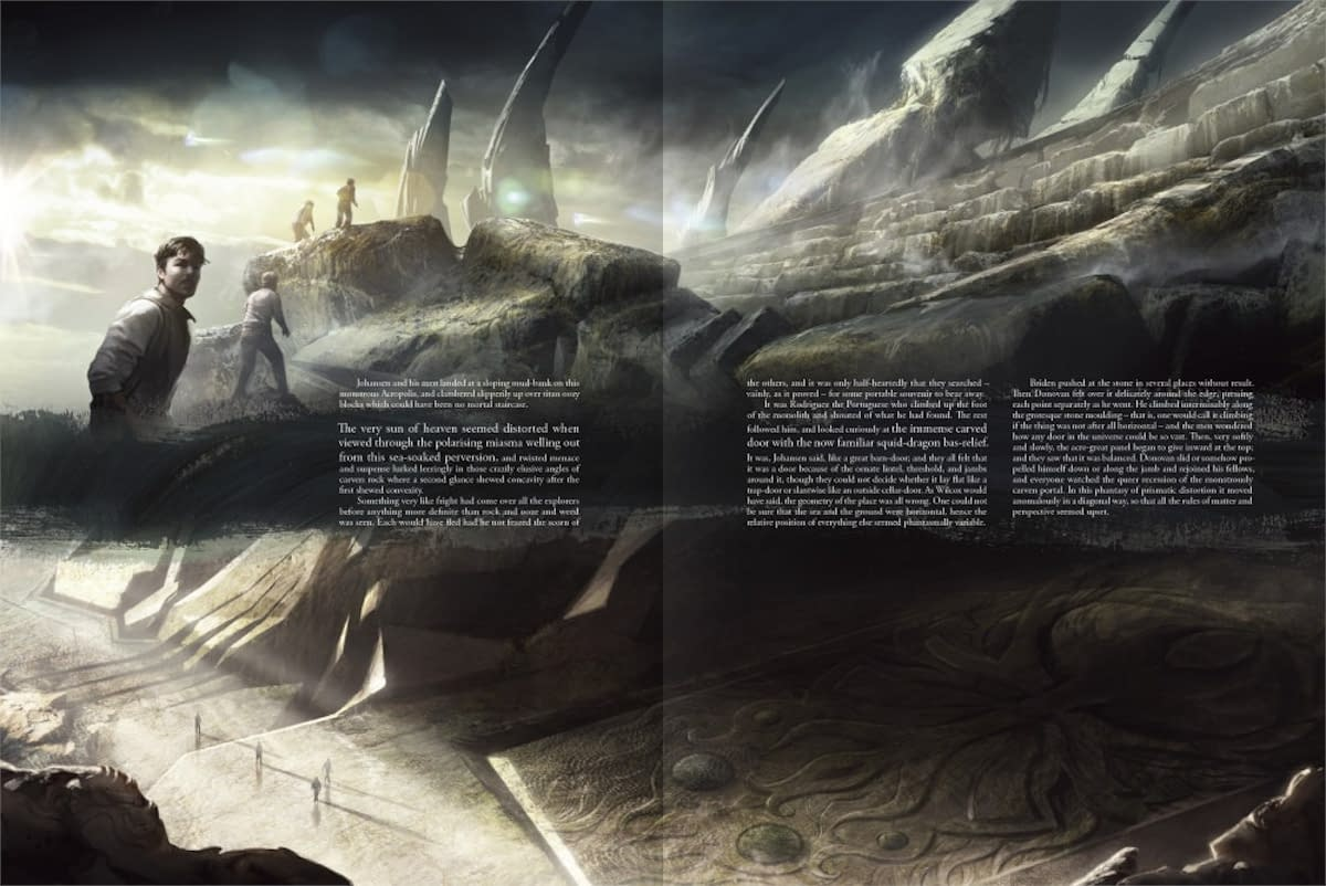 "Gorgeously Illustrated ""Call of Cthulhu"" Book Available Now from Free League Publishing"