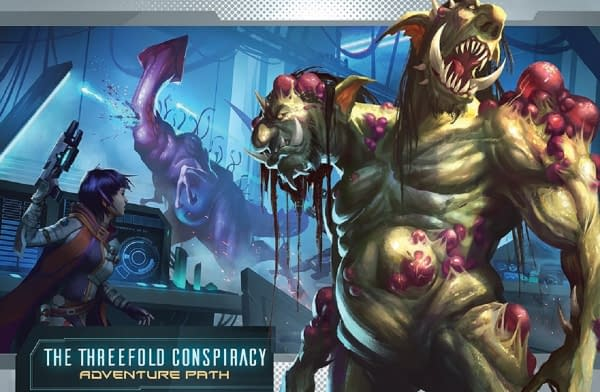 """""""Flight of the Sleepers"""" Releases Monthly - """"Starfinder"""""""