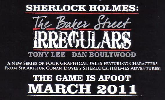 Tony Lee And Dan Boultwood's Irregular Graphic Novels