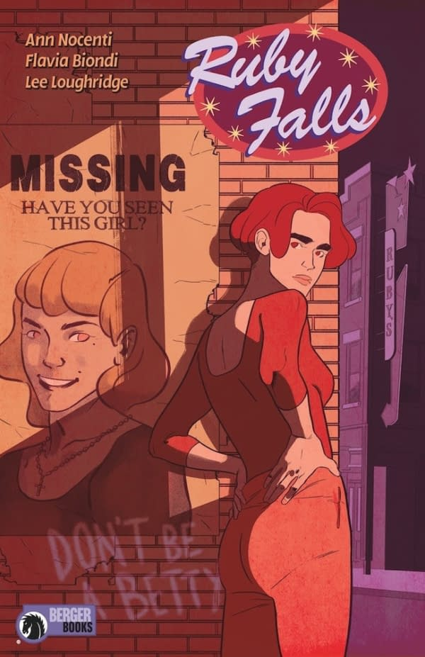 Ann Nocenti to Write Ruby Falls for Berger Books in October