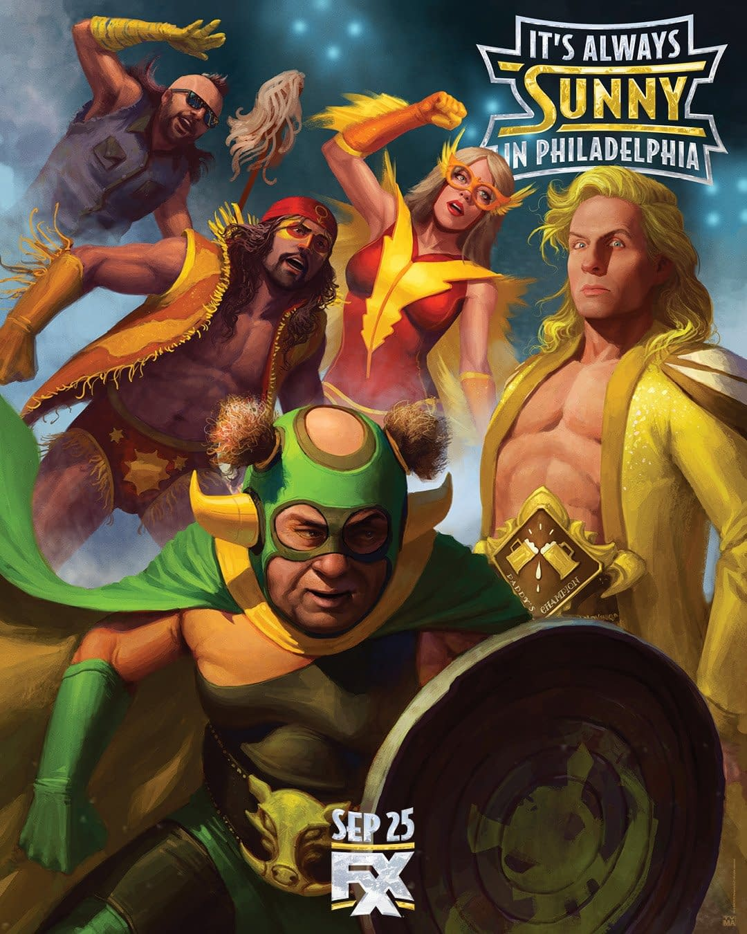 """It's Always Sunny in Philadelphia"" Season 14: Whatcha Gonna Do When Paddy's-mania Runs Wild On You! [NEW KEY ART]"