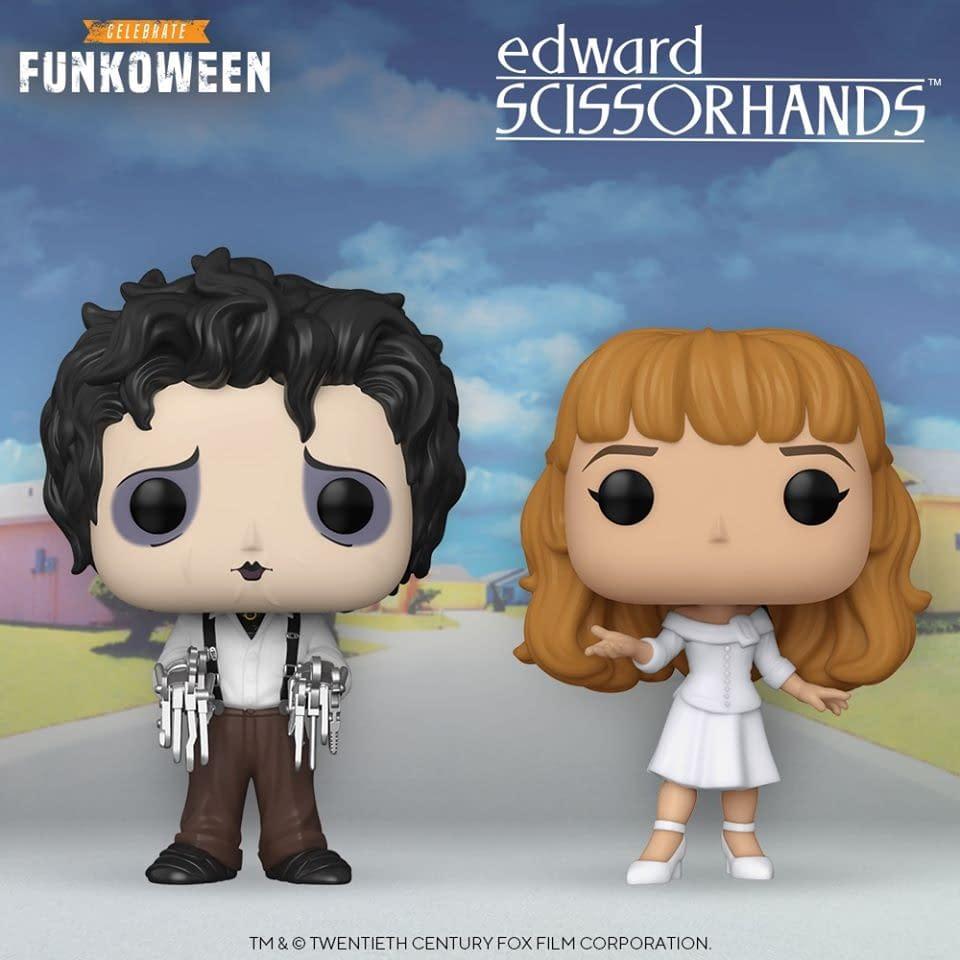 Edward Scissorhands Pops Announced During Funkoween Reveals