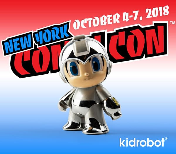 Kidrobot Mega Man NYCC Exclusive