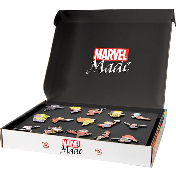 A photo of the Marvel Made box.