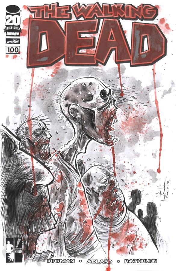 Ben Templesmith covers the Walking Dead