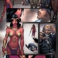 Swords Of Sorrow: Dejah Thoris &#038 Irene Adler &#8211 Script To Art To Colors