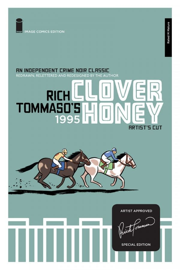 "Taking Cue from George Lucas, Image to Release ""Special Edition"" of Rich Tommaso's Clover Honey"