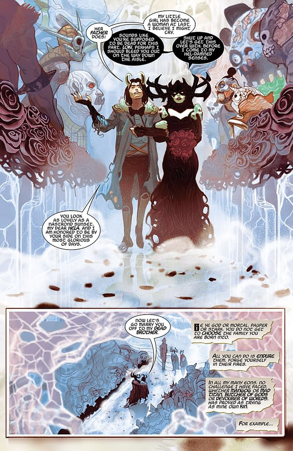 Thor #3 art by Mike del Mundo with Marco D'Alfonso