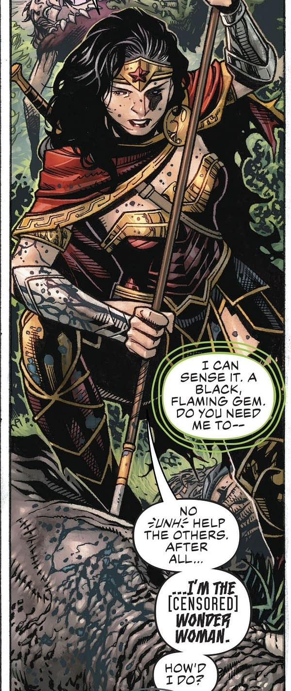 Wonder Woman's Sweary Batman is Uncanny… (Justice League #1 Spoilers)