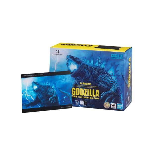 Tamashii Nations SDCC 2020 Exclusives - Dragon Ball and Godzilla