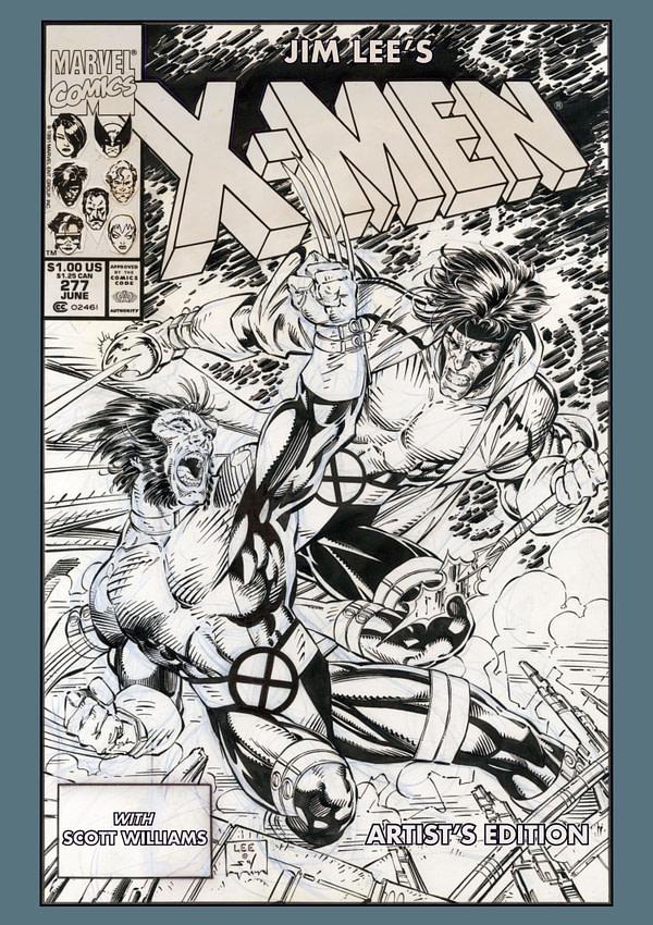 L'œuvre X-Men originale de Jim Lee sera republiée en tant qu'édition d'artiste.