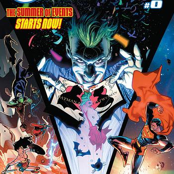 DC Natioon #0 cover by Jorge Jimenez and Alejandro Sanchez