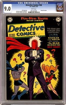 Detective Comics 168 first appearance of Red Hood