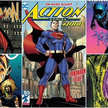 Comic Book Wins and Losses Week of April 17th 2018: One Bat Flies and the Other Falters
