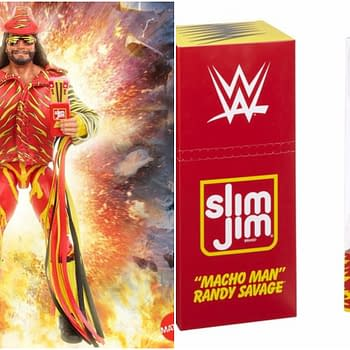 Macho Man Randy Savage WWE Eilte Slim Jim SDCC Exclusive Figure on its Way