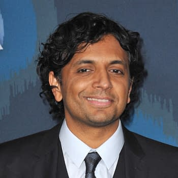Director M. Night Shyamalan at the Fox Winter TCA 2015 All-Star Party at the Langham Huntington Hotel, Pasadena. Editorial credit: Featureflash Photo Agency / Shutterstock.com
