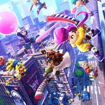 Ninjala Main Art Poster