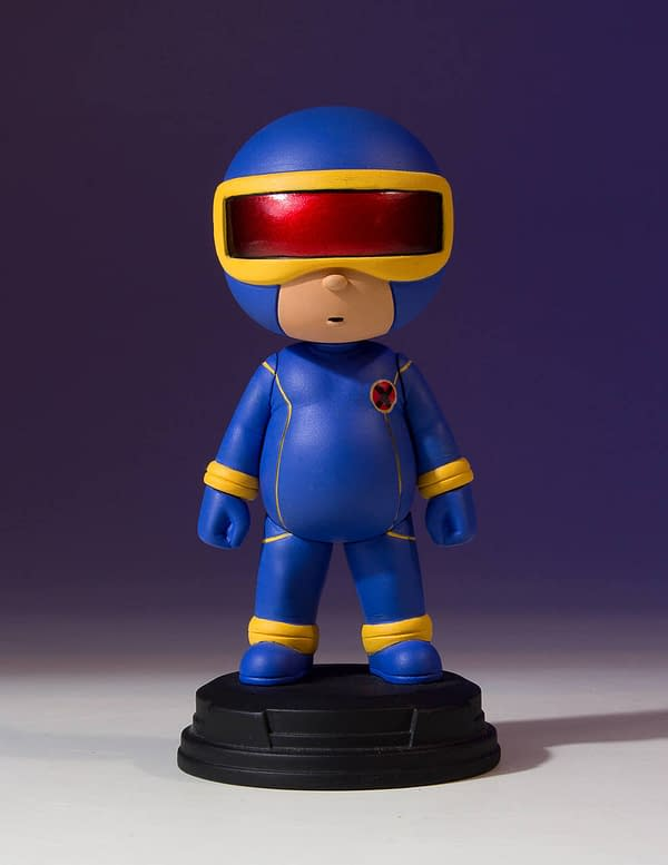 Cyclops Marvel Animated Statue 2
