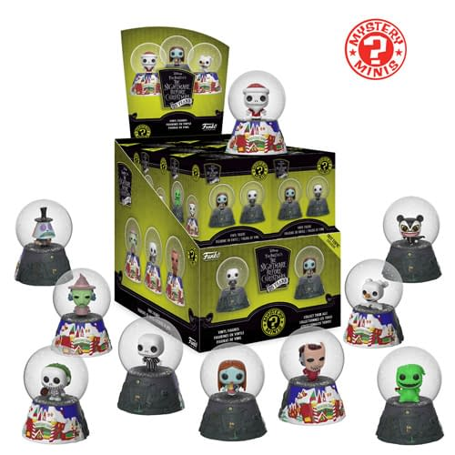 Funko Nightmare Before Christmas Mystery Mini Snow Globes 1
