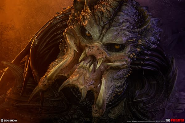 Barbarian Predator Mythos Statue Arrives at Sideshow Collectibles