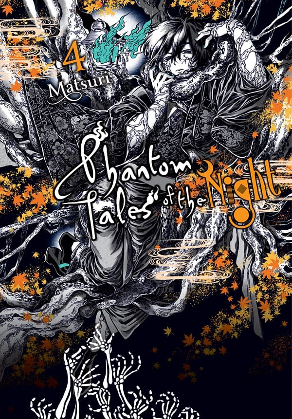 The cover of Phantom Tales of the Night, Vol. 4 by Yen Press.