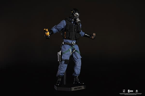 Rainbow Six Siege Smoke Gets Defensive with PureArts Newest Figure