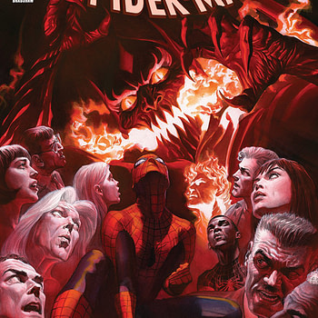 Amazing Spider-Man #800 cover by Alex Ross