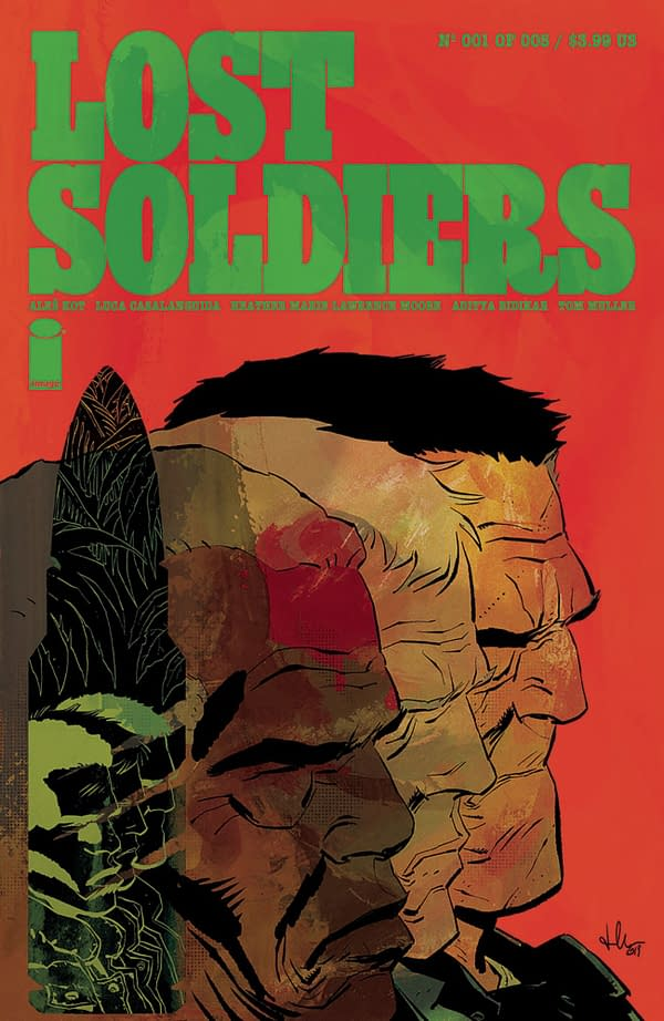 Ales Kot Returns With Luca Casalanguida and Heather Moore For Lost Soldiers.