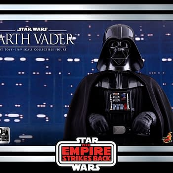 Hot Toys Empire Strikes Back Darth Vader Throwback Figure