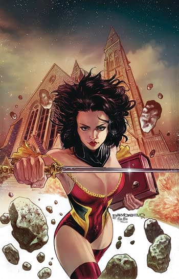 Grimm Fairy Tales #38 Cover A& Monster Planet