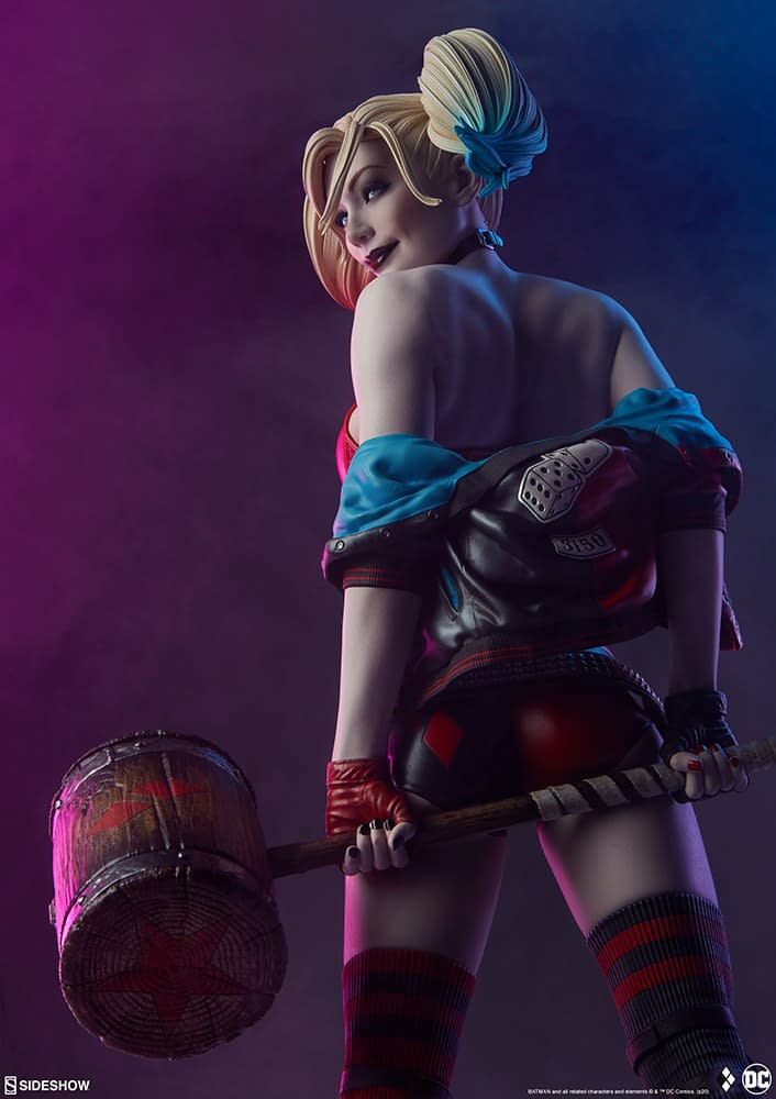 Harley Quinn Hits the Rink as the Sideshow Statue Gets Pre-Orders
