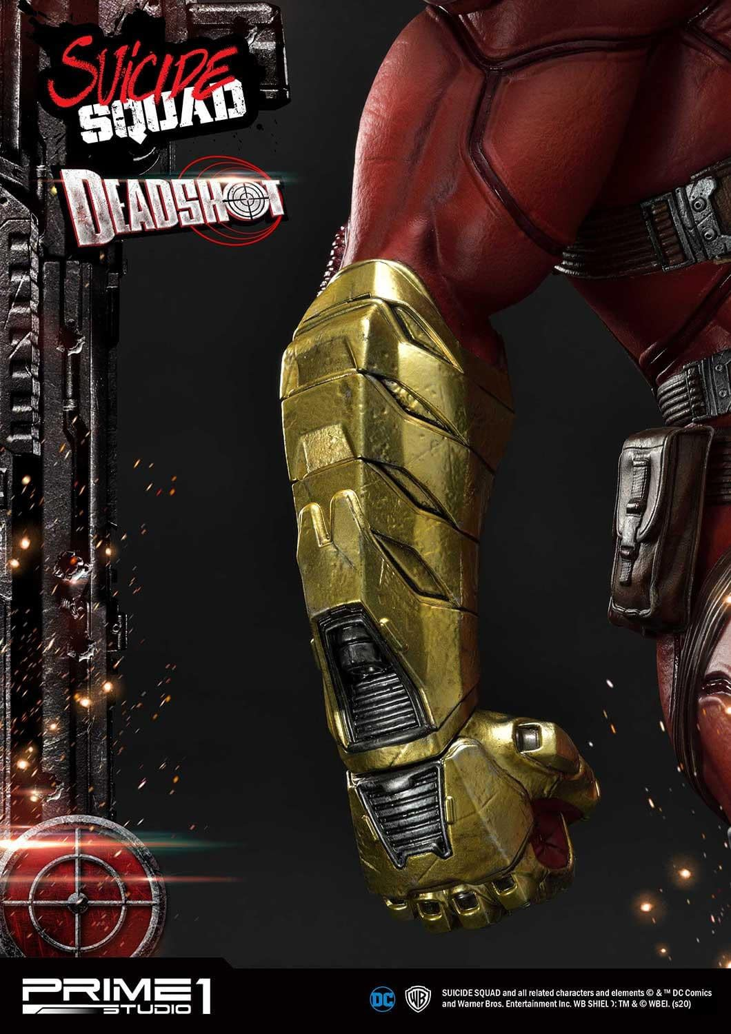 Deadshot Is Locked and Loaded With New Prime 1 Studio Statue