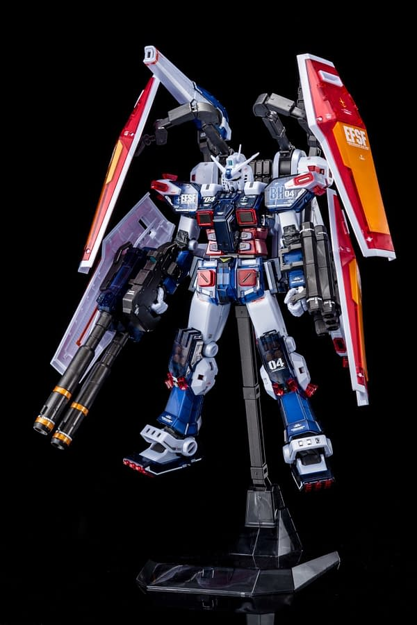 Bandai Full Armor Gundam Ver.Ka (Half-Mechanical Clear) SDCC