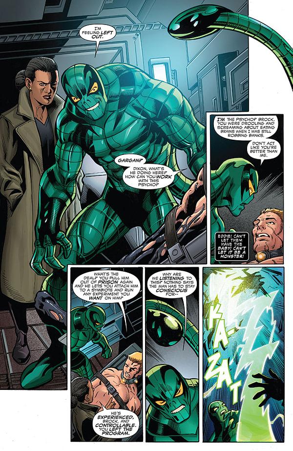 Venom #165 art by Mark Bagley, Scott Hanna, and Dono Sanchez-Almara