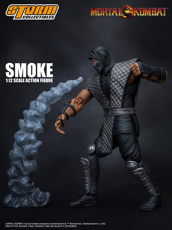 NYCC Storm Collectibles Mortal Kombat Smoke Exclusive 7