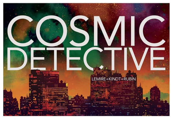 Cosmic Detective art by David Rubín which is now on Kickstarter.