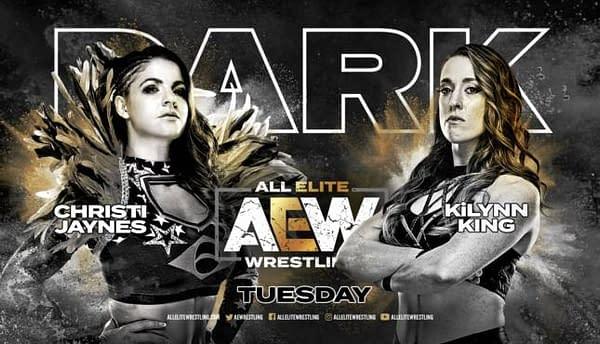 Christi Jaynes vs. KiLynn King replaces a canceled match on AEW Dark this week.