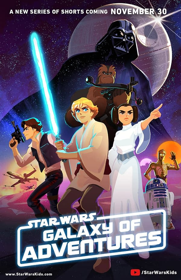 Star Wars Galaxy of Adventures Poster