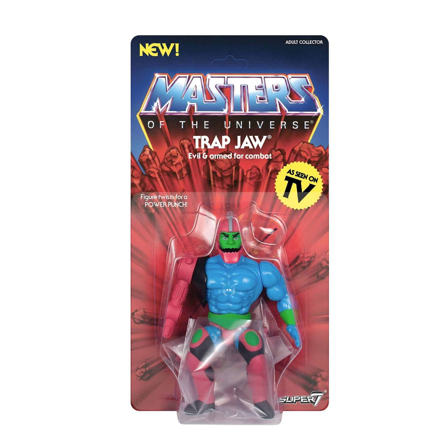 Masters of the Universe Vintage Trap Jaw