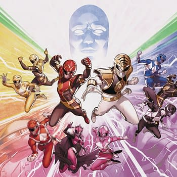 SPOILER Sees Mighty Morphin Power Rangers #50 Sell Out Before Sale