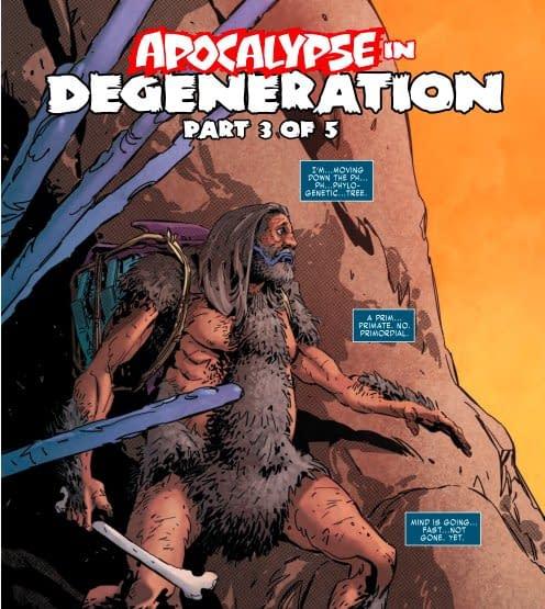Apocalypse Gets a Bold New Costume in X-Men Black Mystique